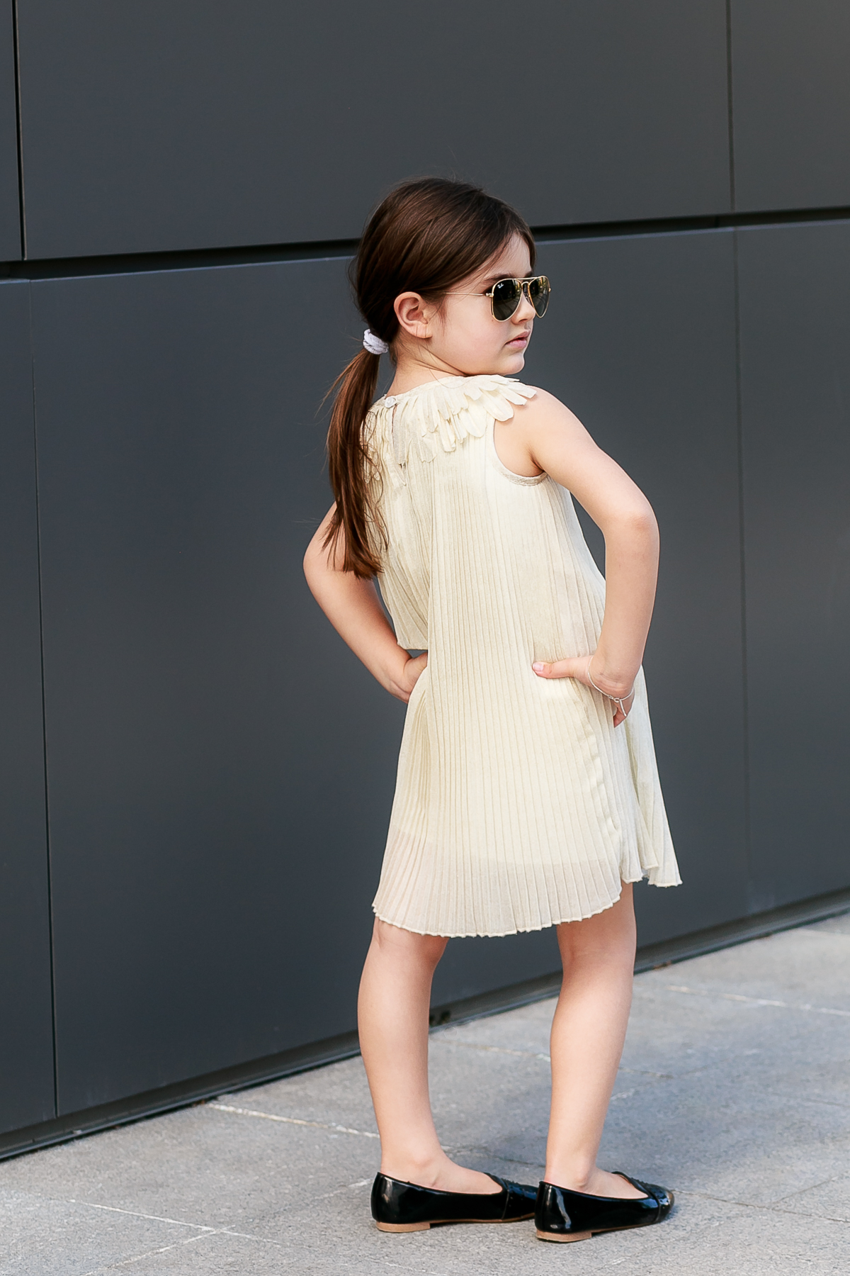 Kids Style Chloe Girl Look Street Style Outfit by Miss Kaira | EdgyCuts