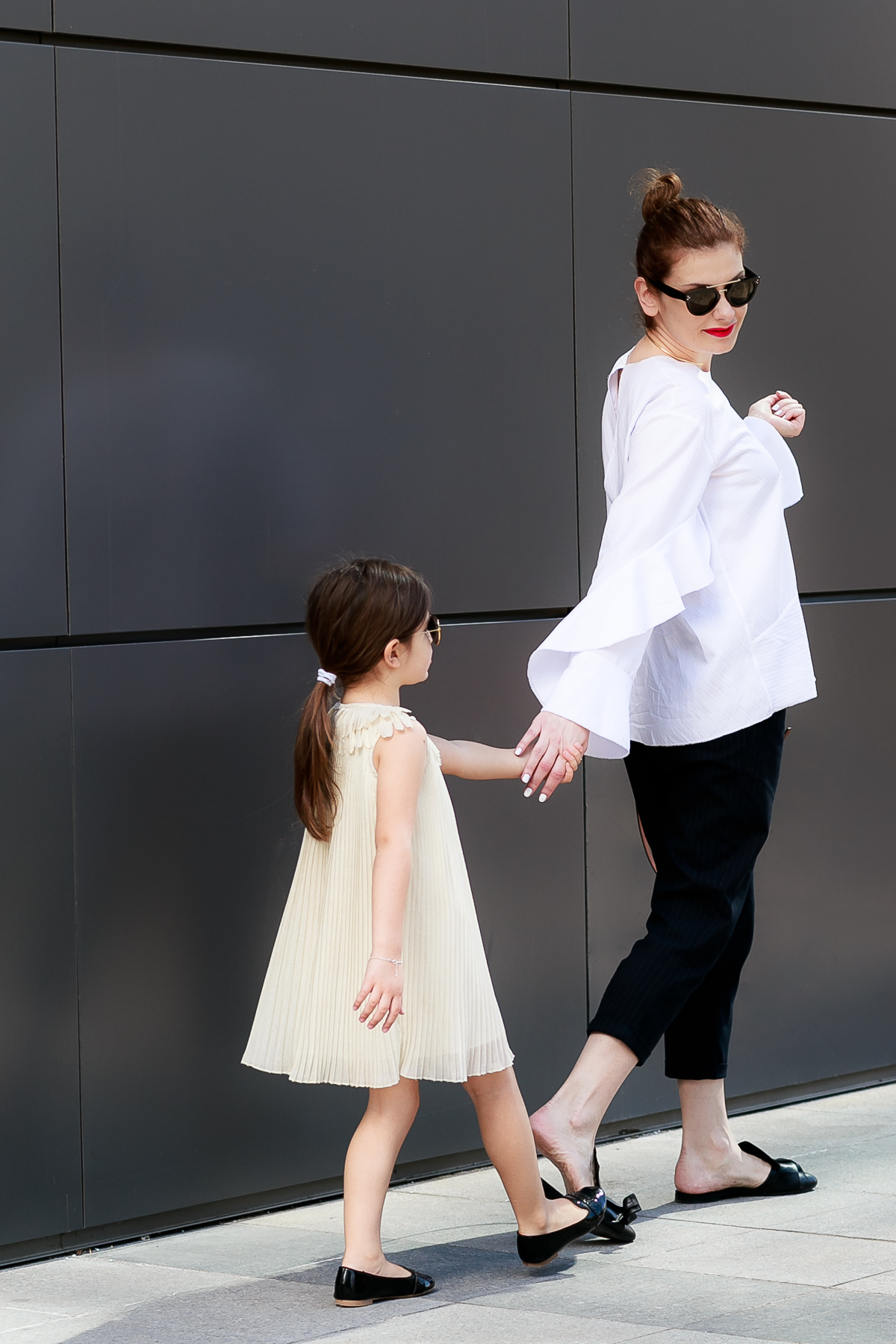 Mother - Daughter Mommy and Me Mini Me Chloe Girl Look Street Style Outfit | EdgyCuts