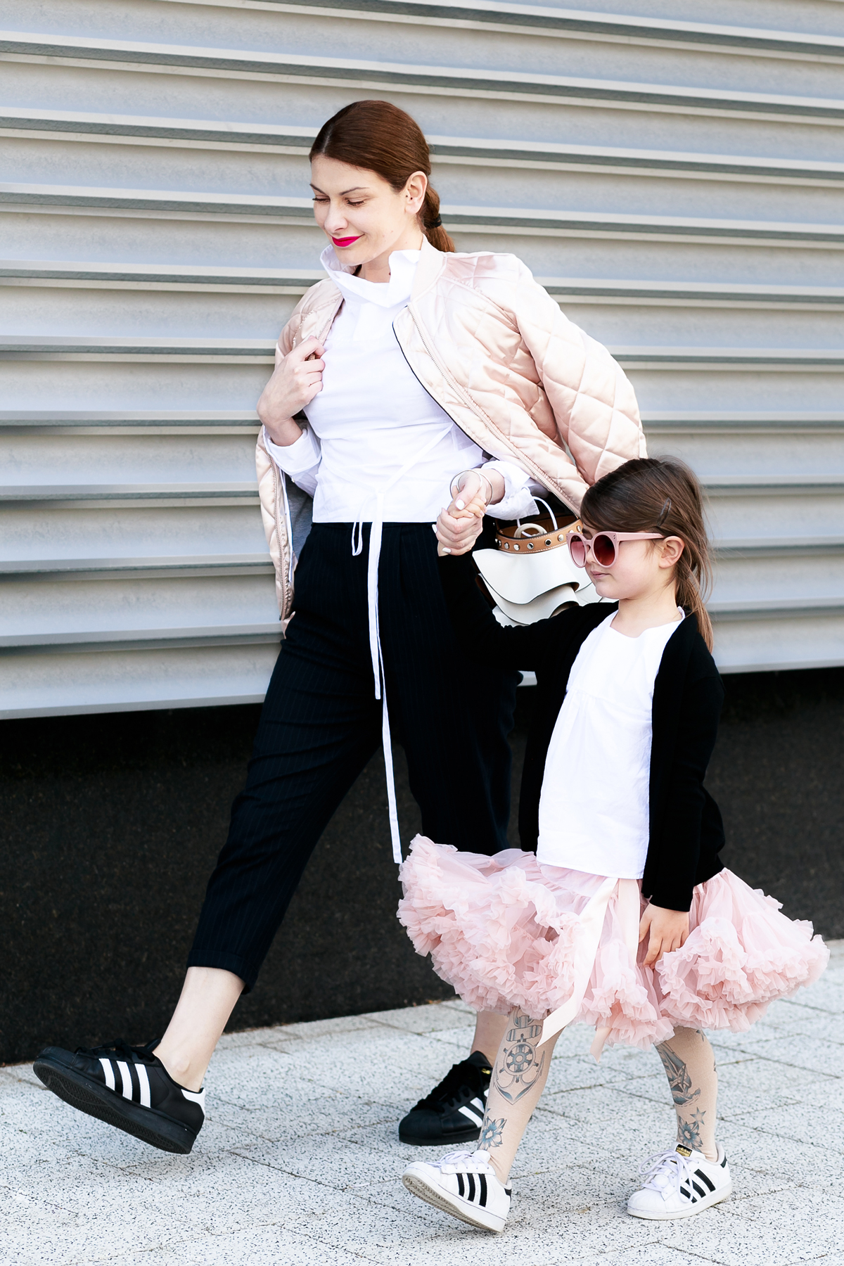 What To Wear To Circus Show } Mother - Daughter Mommy and Me Outfit Mini Me Style feat. Adidas Originals Superstar | EdgyCuts